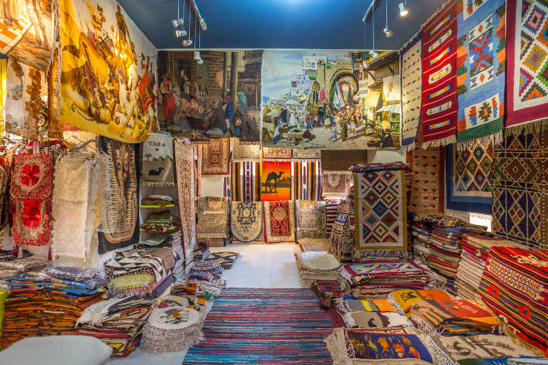 The Souvenir shops in Taba Heights for handmade gifts and natural products