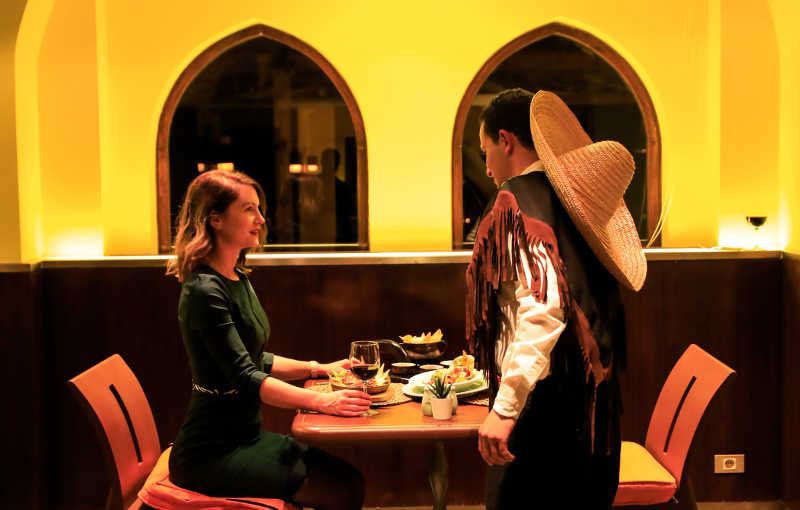 Dining at Taba Heights Restaurants with an excellent services and well trained staff
