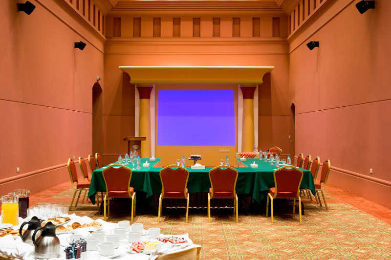 A meeting room at Mosaique Beach Resort in Taba Egypt