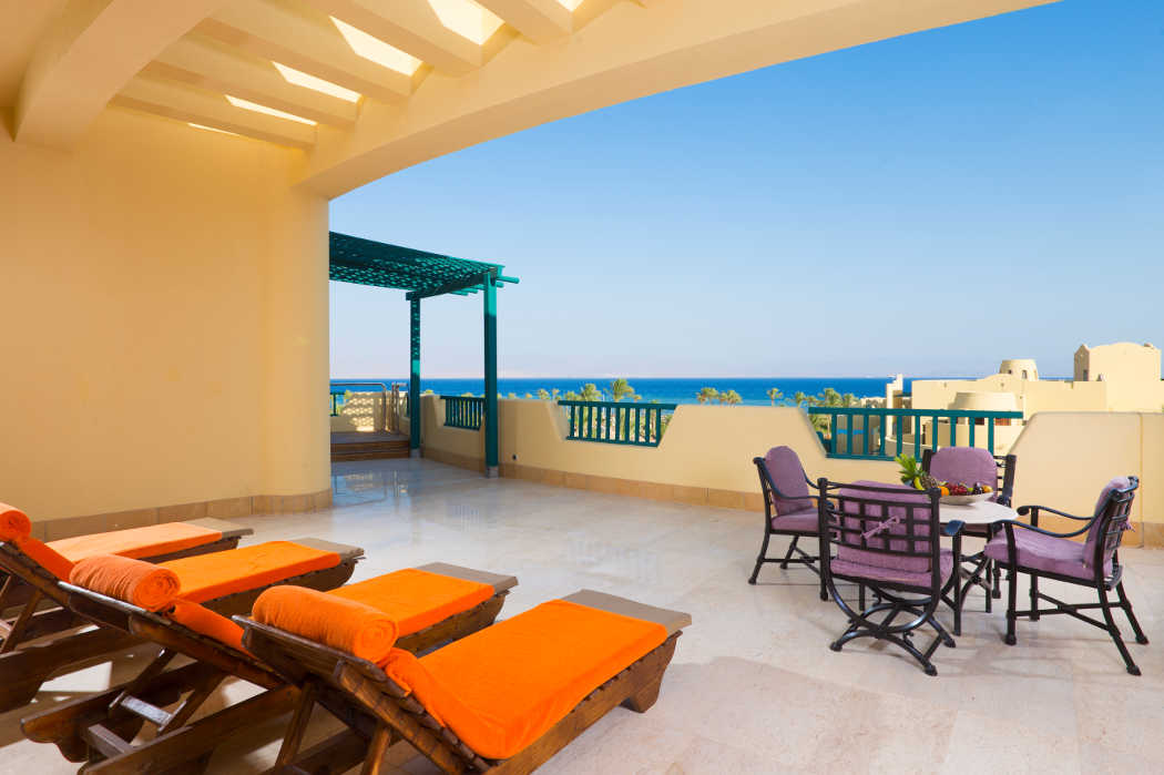 The Bayview Resort - Taba Heights - Presidential Suite Terrace