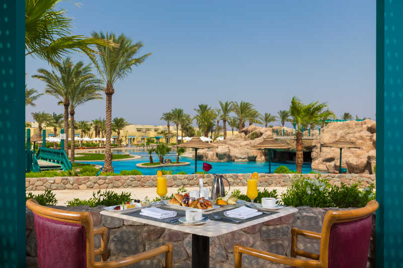 Dinning At The Bayview Taba Heights Sinai Egypt