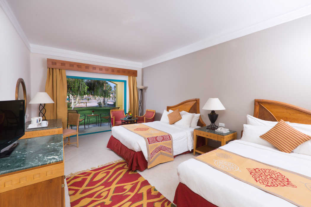 Standard Room with Garden View at The Bayview Taba Heights Sinai