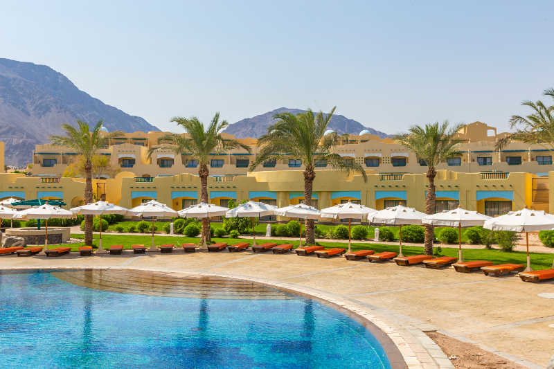 Pool View - The Bayview Taba Heights - Sinai Egypt Hotels