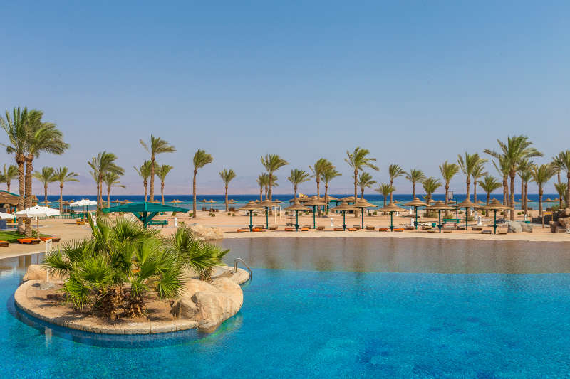 The Bayview Resort pool in Taba Heights - Sinai Egypt Hotels